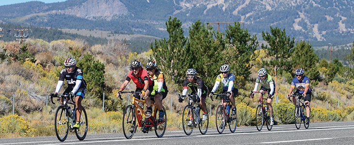 Lodging for the Mammoth Gran Fondo