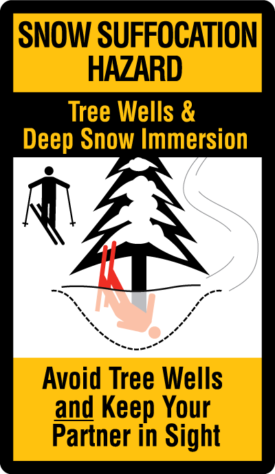 Snow Immersion Suffocation/Tree Well Safety